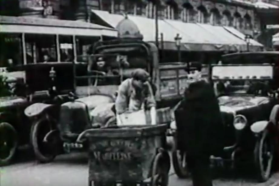 Filmpje: de straten van Parijs (1928)