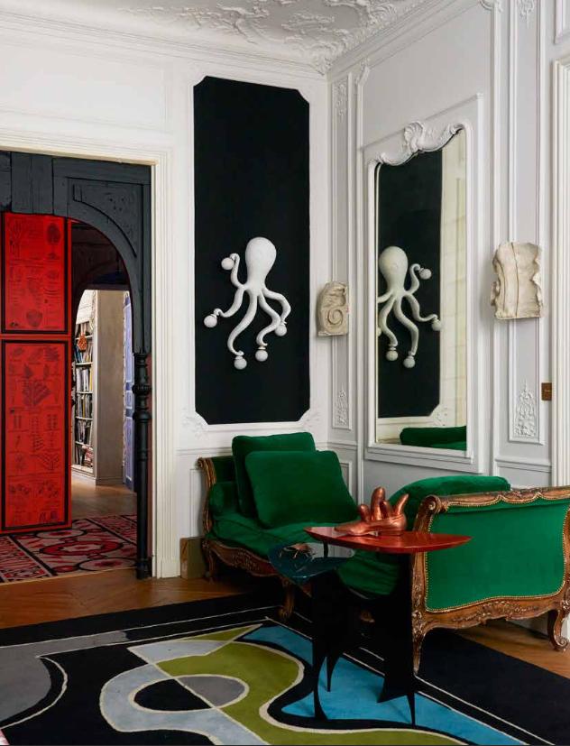 Binnenkijken bij een Parijse interieurarchitect – en bijna alles is te koop