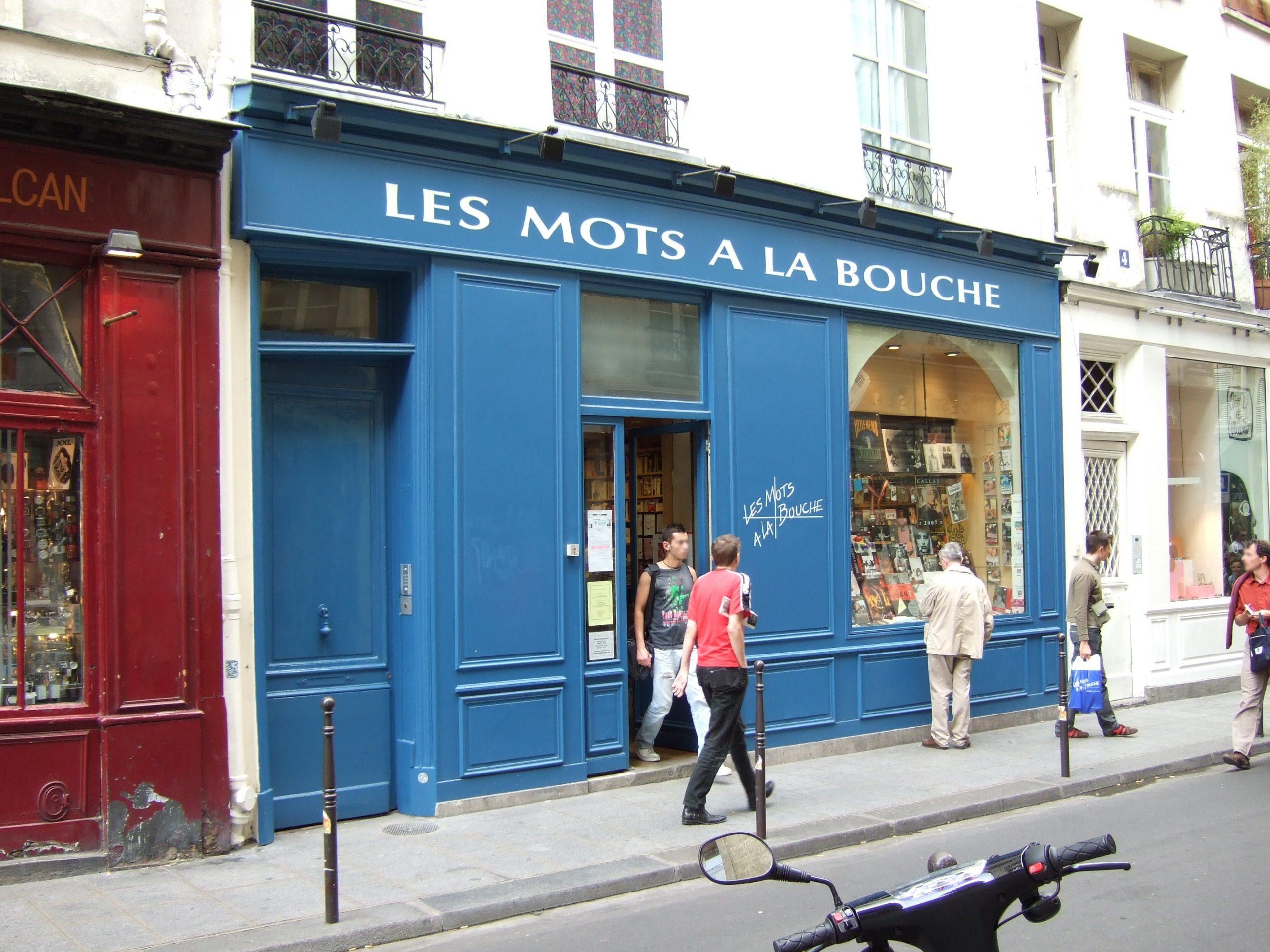 Enige Parijse gay boekhandel 'Les Mots à La Bouche' moet in de Marais het veld ruimen