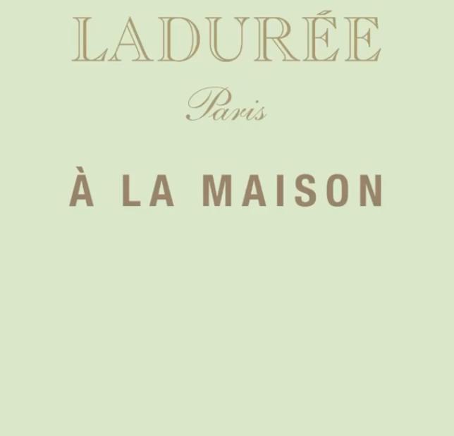 Maison Ladurée deelt haar recepten