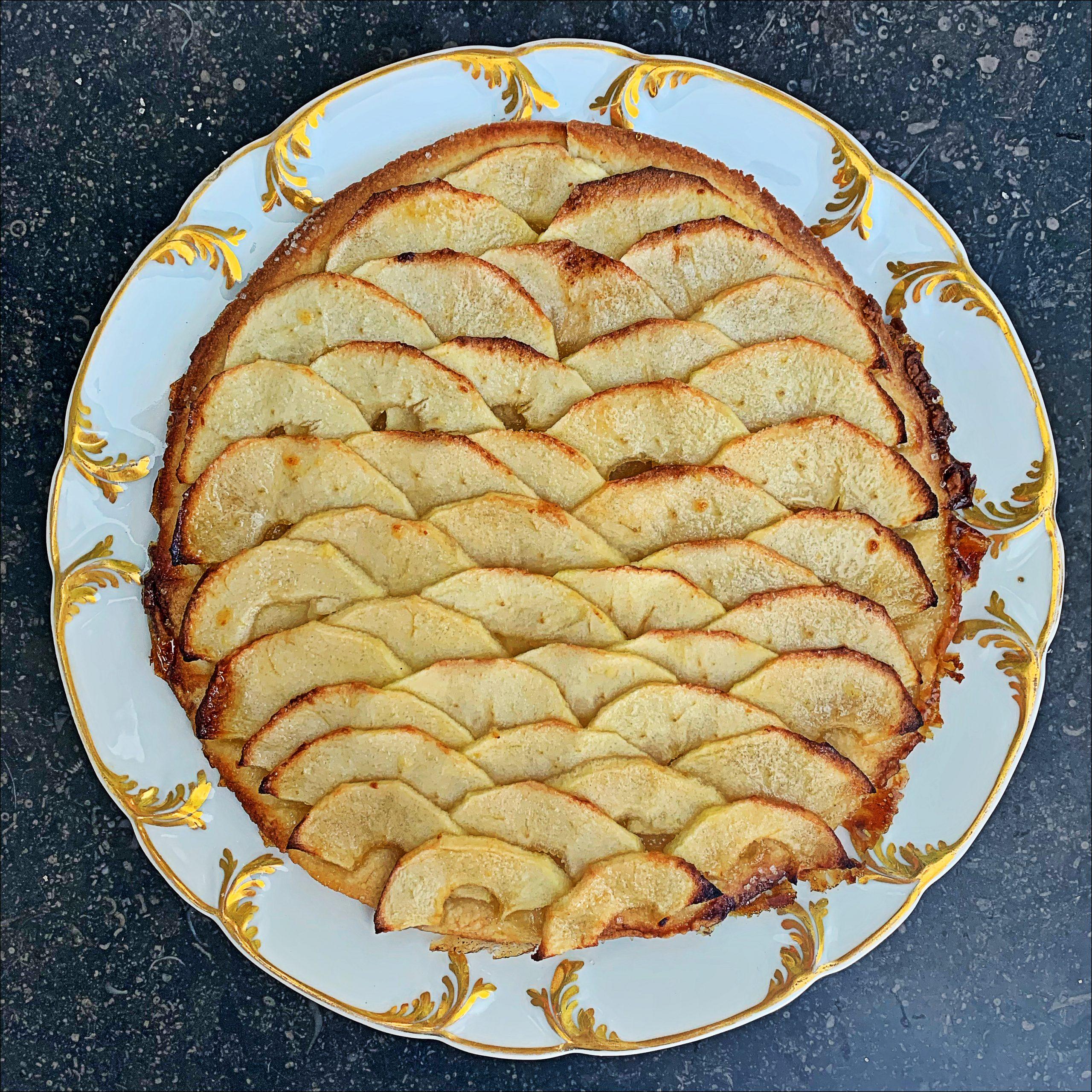 Recept: Tarte fine aux pommesvanLadurée