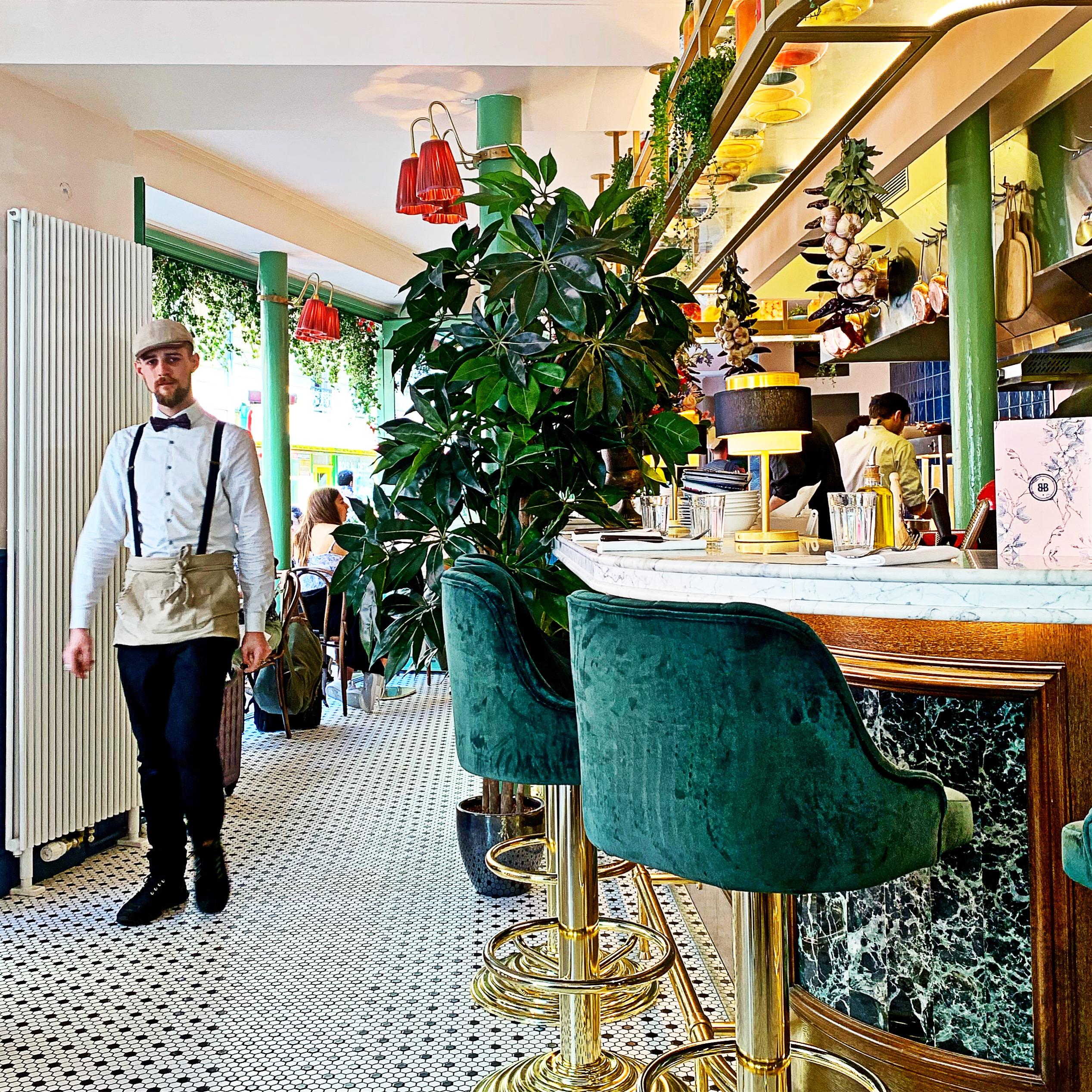 Brasserie Bellanger in Parijs: betaalbare brasserie met klassiek-meets-millennial-interieur